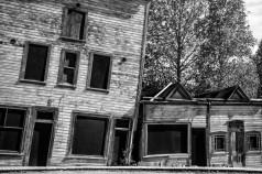 Houses in Dawson City