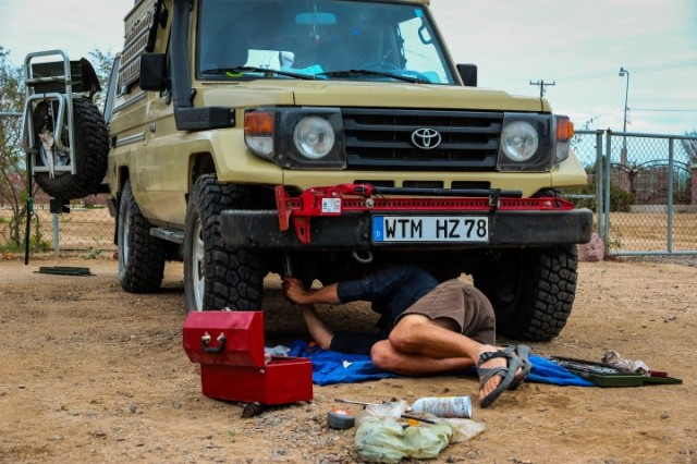 Fixing the Land Cruiser