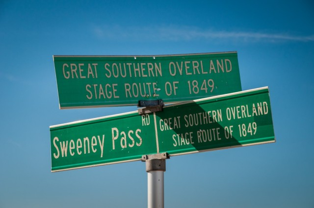 Great Southern Overland Stage Route of 1849
