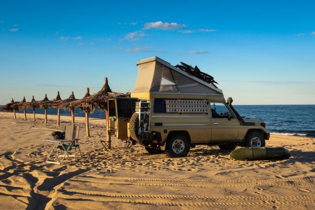 Palapa Beach Camping