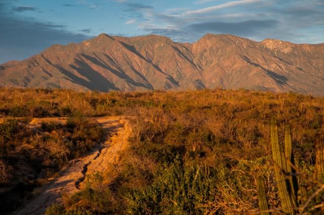 Route to El Refugio