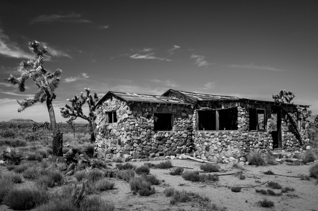 Stone House Along the Mojave Road